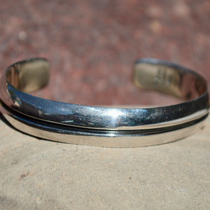 Taxco Mexico Mexican Sterling Silver Cuff Bracelet